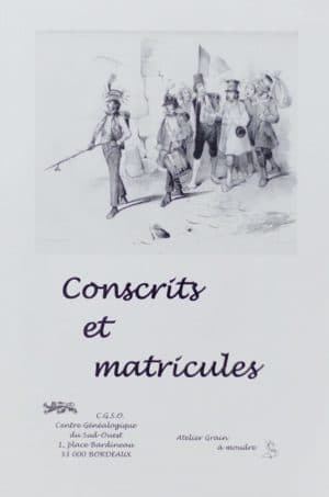 Conscrits et matricules