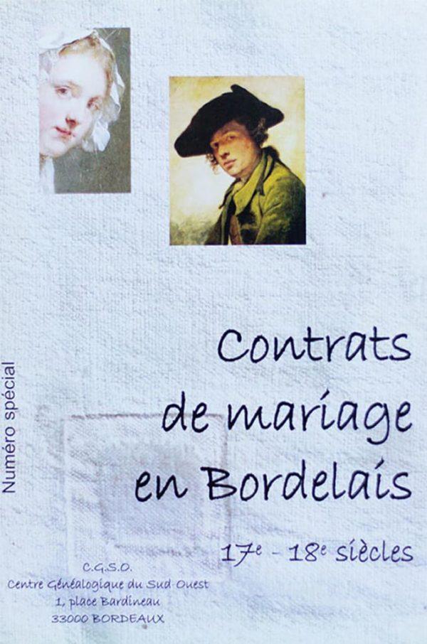 Contrats de Mariage en bordelais