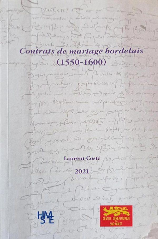 Contrats de mariages bordelais